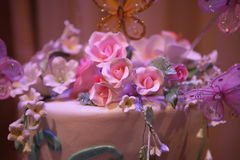 Colorful Cake, Wedding Close Up Royalty Free Stock Photography