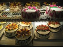 Colorful Cakes Royalty Free Stock Photos