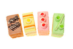 Colorful Cakes Stock Photo