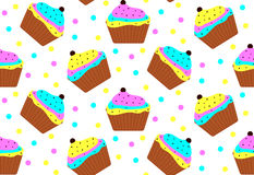 Colorful cakes Royalty Free Stock Images