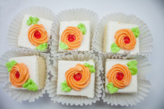 Colorful cakes Royalty Free Stock Photography