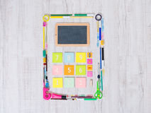 Colorful calculator Royalty Free Stock Photography