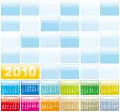 Colorful Calendar for 2010. Colorful Calendar for year 2010 in vector format Stock Image