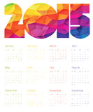 Colorful Calendar 2015 Design. Vector. Colorful Calendar 2015 Design. Vector illustration royalty free illustration