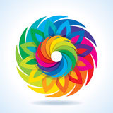 Colorful Camera Shutter Vector Design Stock Images