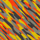 Colorful Camo Texture Stock Photography