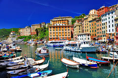 Picturesque  Camogli Stock Photo