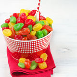 Colorful candied fruits Royalty Free Stock Photo