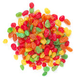 Colorful candied fruits Royalty Free Stock Images