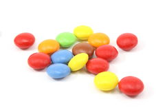 Colorful Candies. On a white background Royalty Free Stock Photos