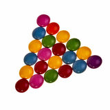 Colorful candies. Royalty Free Stock Image
