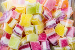 Colorful candies. Colored candy sugar sweetness Royalty Free Stock Photos