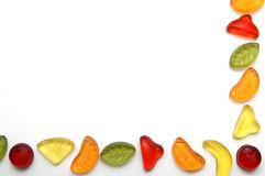 Colorful candies. Frame made of colorful candies Royalty Free Stock Photos
