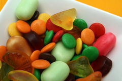 Colorful candies. For kinder party Stock Image