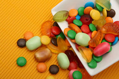 Colorful candies. For kinder party Stock Photography