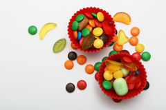 Colorful candies. For kinder party Stock Images