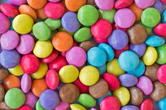 Colorful candies. Background close up Royalty Free Stock Photography