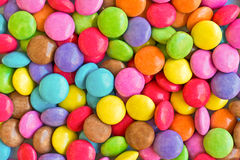 Colorful candies background. Round Colorful candies food background Stock Images