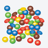 Colorful candies, vector  Stock Photography