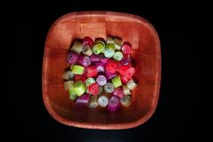 Colorful candies Royalty Free Stock Photos