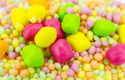 Colorful candies close up Royalty Free Stock Image