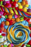 Colorful Candies. The Dessert food; Colorful Candies Royalty Free Stock Photography