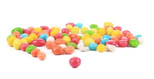 Colorful candies dragee Royalty Free Stock Photos