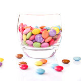 Colorful candies in a glass Stock Photo
