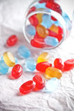 Colorful candies Stock Images
