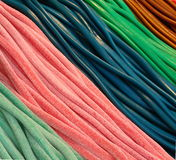 Colorful candies and licorice Stock Photography