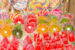 Colorful candies at the market. Vibrant and colorful candies at the market Stock Images