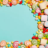 Colorful candies Royalty Free Stock Photo