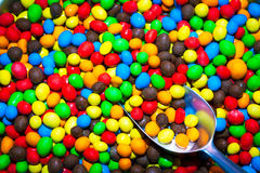 Colorful Candies and Scoop Royalty Free Stock Photo
