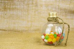 Colorful candies. With shallow depth of field (dof)-diet and healthy teeth concept Royalty Free Stock Photo