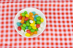 Colorful candies. With shallow depth of field (dof)-diet and healthy teeth concept Stock Images