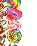 Colorful candies and sweets Royalty Free Stock Photo