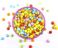 Colorful candies sweets Stock Images