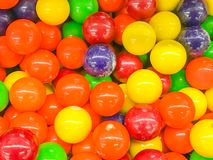 Colorful candies texture background. Close up of colorful candies texture background Stock Image