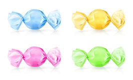 Colorful candies, vector illustration Royalty Free Stock Photography