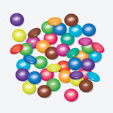 Colorful candies, vector  Royalty Free Stock Photography