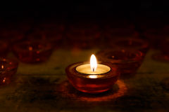 Colorful candles Royalty Free Stock Photo