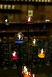 Colorful candles Royalty Free Stock Images