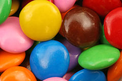 Colorful candy. Bright colored candy close up royalty free stock images