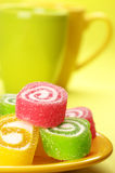 Colorful candy Stock Photos