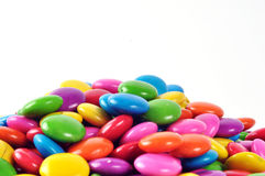 Pile of colorful candy Stock Photos