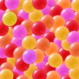 Colorful Candy. Candy background with yellow, orange,red and pink sweets Stock Photography