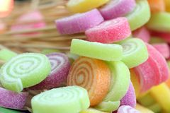 Colorful candy Closeup  background royalty free stock images