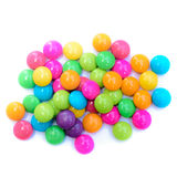 Colorful candy on background. Colorful candy on white background Royalty Free Stock Photography