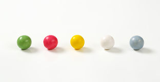 Colorful candy balls Stock Photos