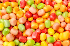 Colorful candy beans Stock Photos